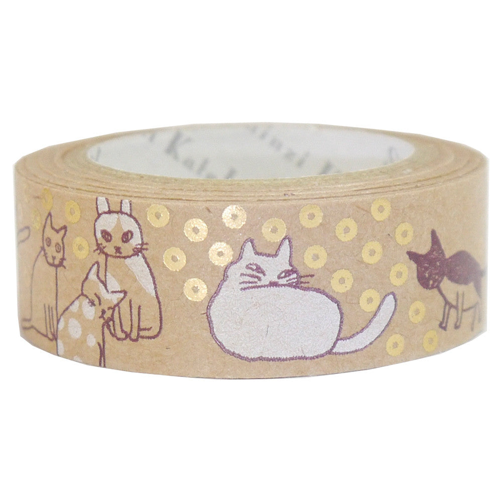 Sleeping Cats washi tape - Have a Point