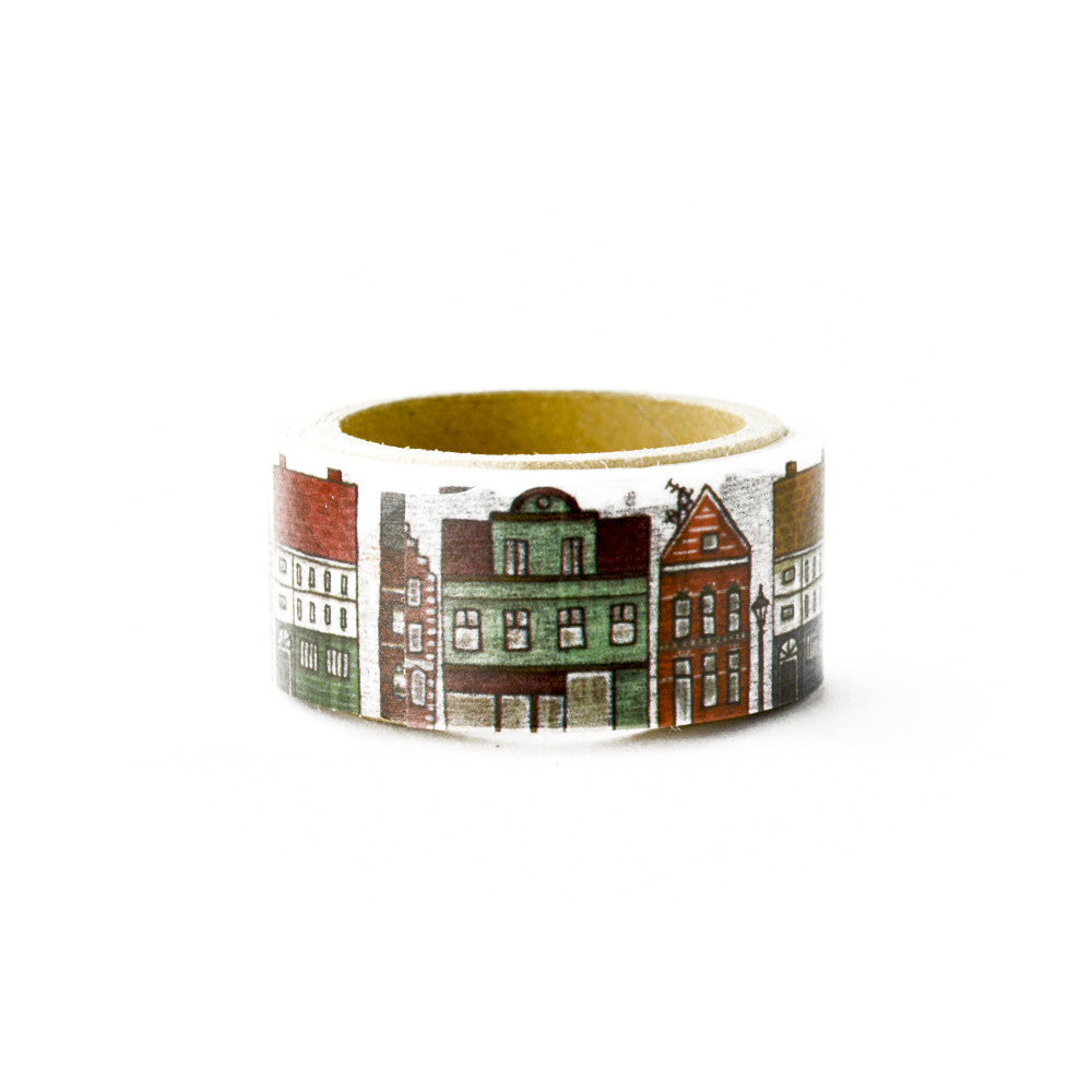 Northern European Town washi tape - Paper Kooka