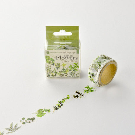 Leaf washi tape - Paper Kooka