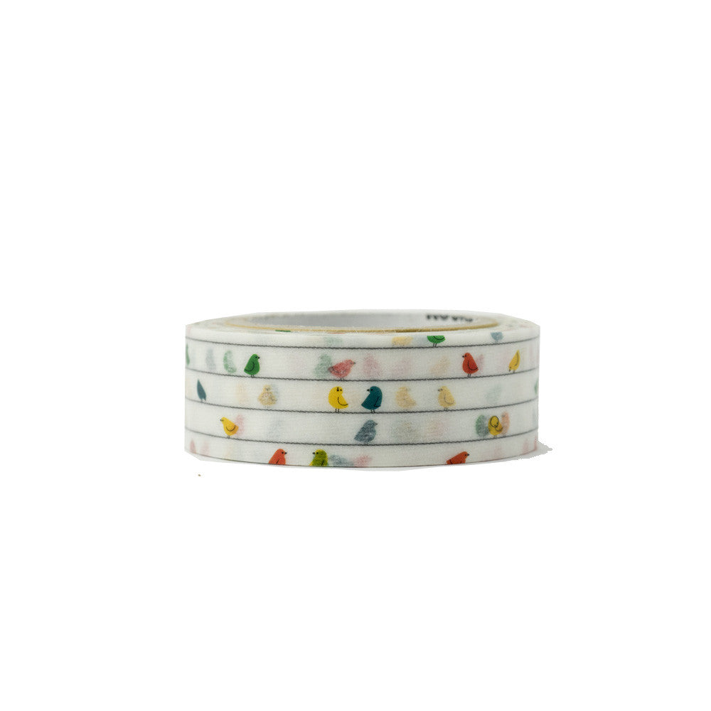Birds washi tape - Have a Point
