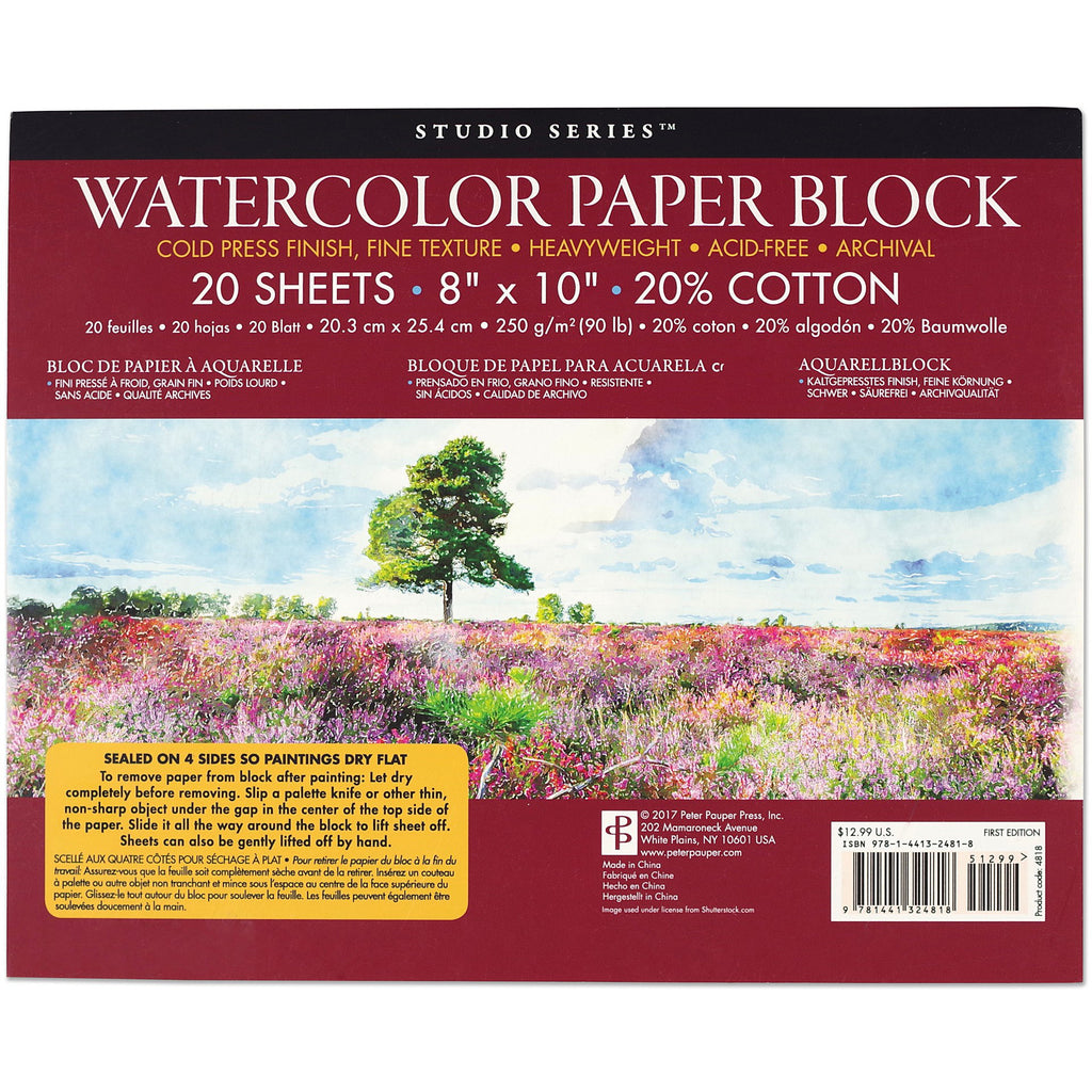 Watercolour Paper Block - Have a Point