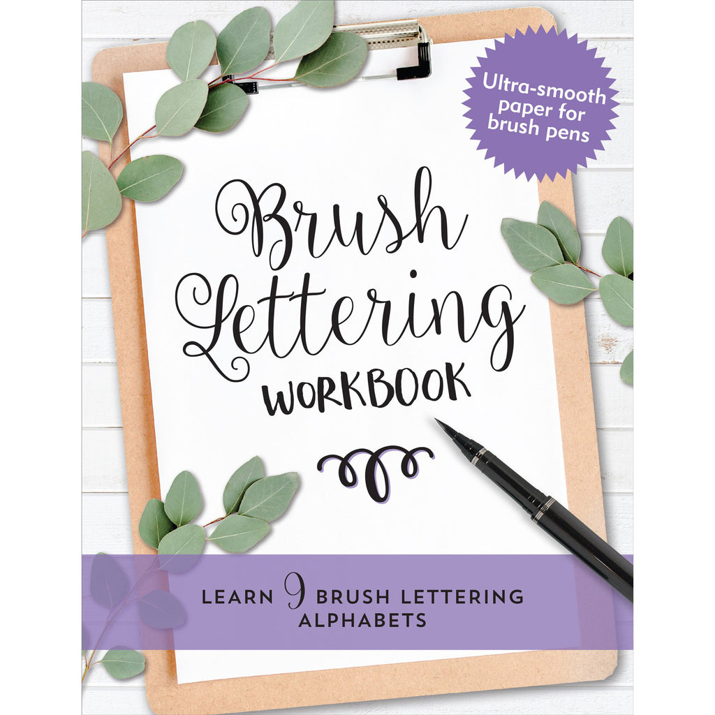 Brush Lettering Beginner Workbook - Paper Kooka