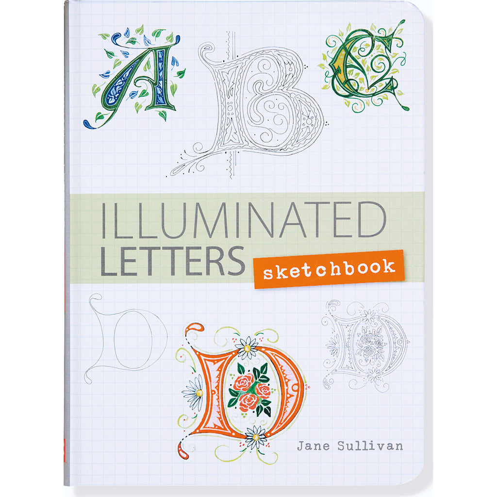 Illuminated Letters - sketchbook - Paper Kooka