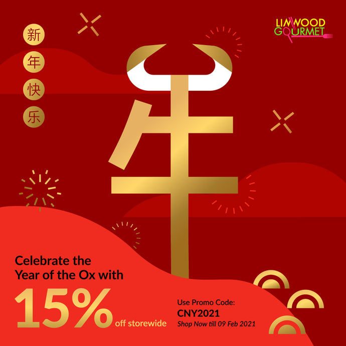 Limwood Chinese New Year Sale! 15% off STOREWIDE!