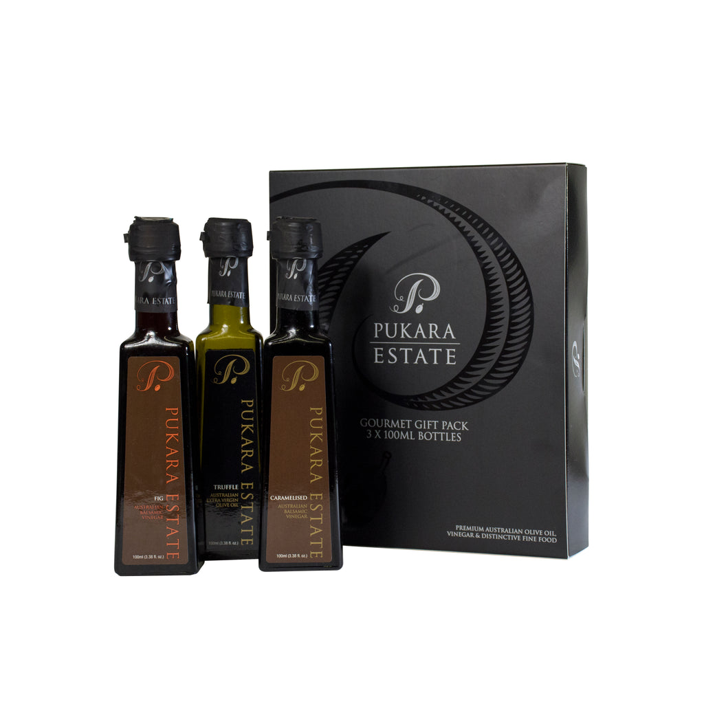 Christmas Gift Pack- Premium, Lime EVOO & Red Wine Liqueur Vinegar