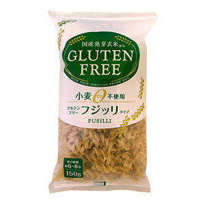 Jyu Ka Sprouted Brown Rice Fusilli Pasta - 150g