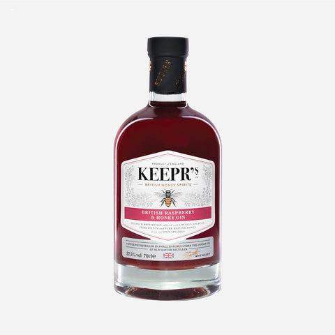 Keepr's British Raspberry & Honey Gin - 70cl