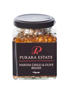 Pukara Estate Harissa Chilli & Olive Relish