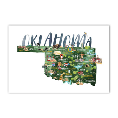 Oklahoma Postcards