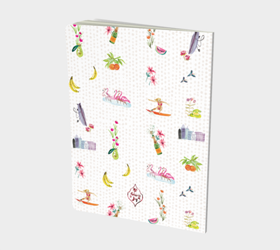 Surf + Fruit Notebooks