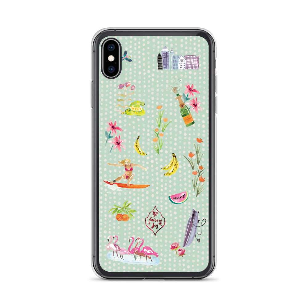 SURF CITY - Phone Case