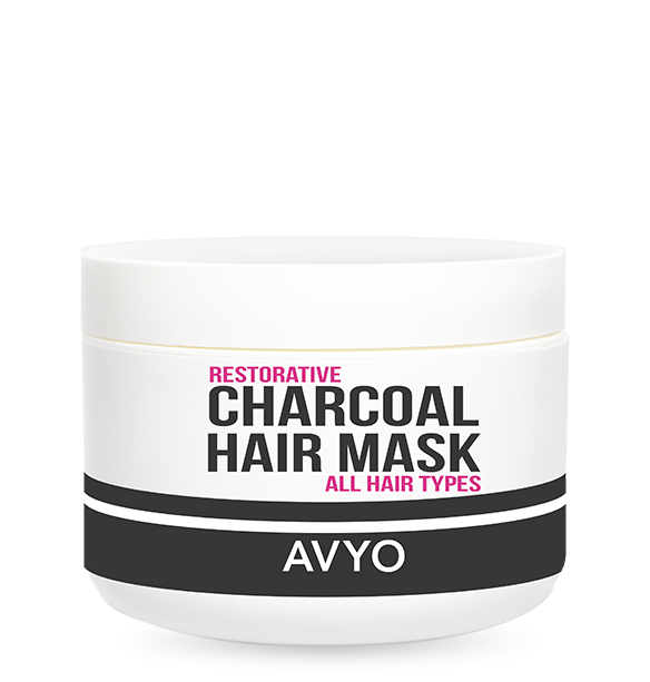Charcoal Hair Mask - SHSalons.com