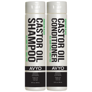 Castor Oil Shampoo and Conditioner Set | AVYO