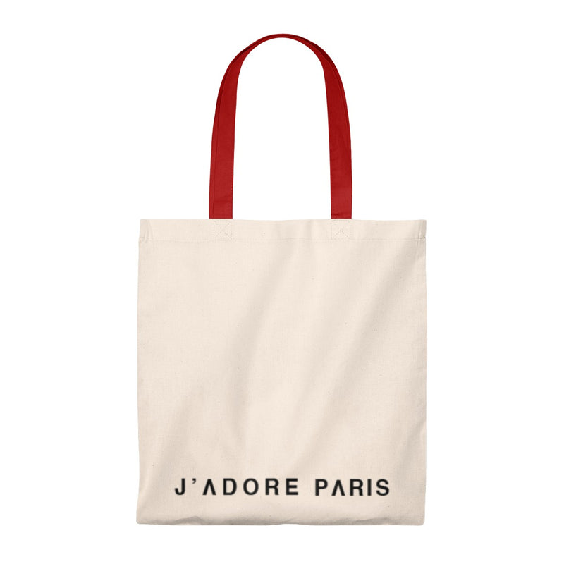 Tote Bag Jadoreparis - Vintage Red