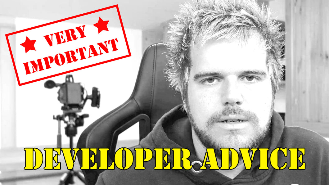 A Developers Advice 03 - The Single Most Important Thing