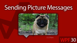 C# WPF UI Tutorials: 30 - Sending a Picture Message