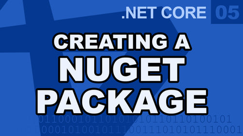 .Net Core - Creating a Nuget Package