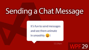 C# WPF UI Tutorials: 29 - Sending a Chat Message