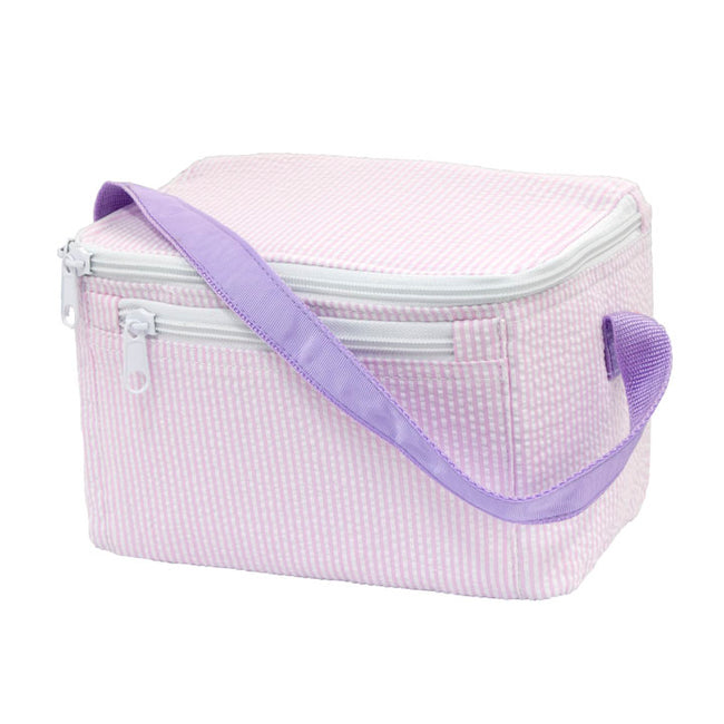 Seersucker Lunch Box - Princess - Pistachios Monograms and Gifts