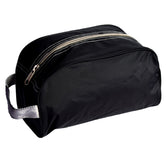 Traveler/Dopp Kit/Diaper Caddy - Black with Grey Trim