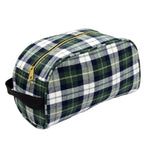 Traveler/Dopp Kit/Diaper Caddy - Kilt - Pistachios Monogram Embroidery