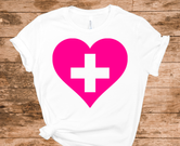 Support our Healthcare Heroes T-shirt - White