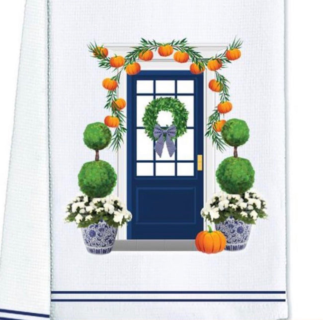 Fall Door Tea / Kitchen Towel
