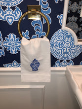 Chinoiserie Ginger Jar Hand/Tea Towel I