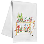 Christmas Bar Cart Kitchen / Tea Towel