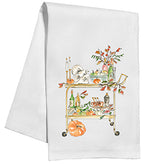 Thanksgiving Bar Cart Kitchen / Tea Towel