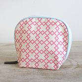 Madison Cosmetic Bag in Punch/Sky