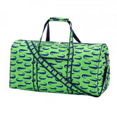 Duffel Bag - Gator - Green, Navy and White