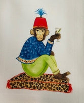 Marcel the Chimp Tea / Kitchen Towel