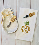 Pineapple Gift Set - Pistachios Monogram Embroidery