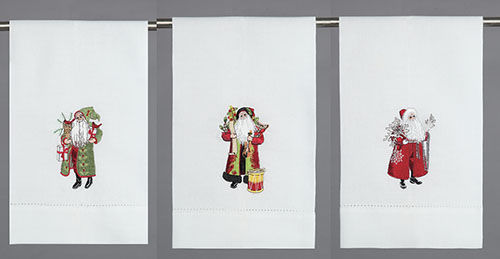 Santa Red Tea/Hand Towel