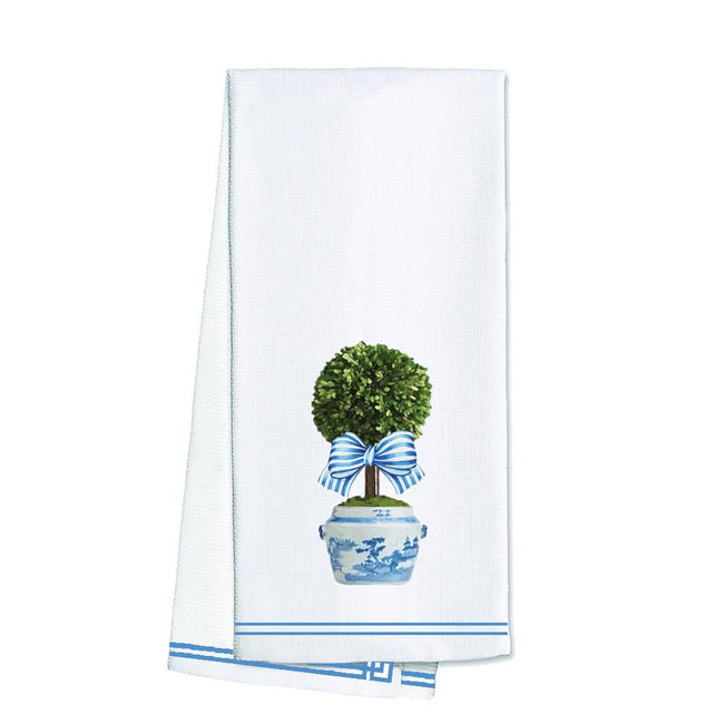 Topiary Tree Tea / Kitchen Towel