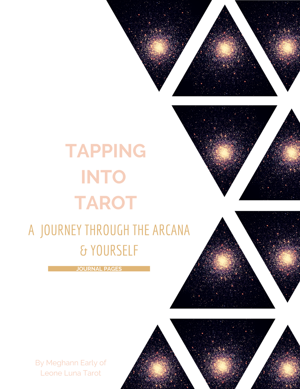 Tapping Into Tarot: Intuitive Tarot Journal
