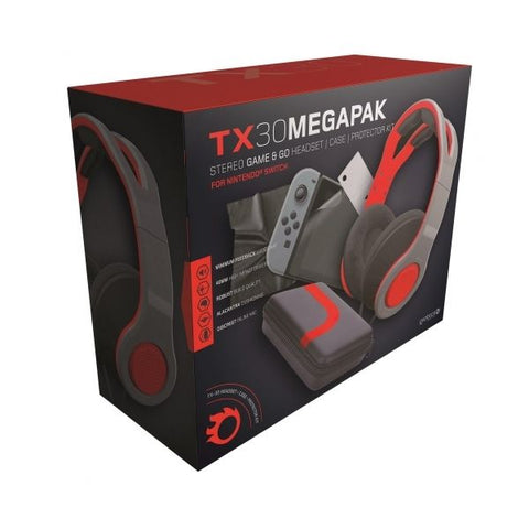 STEREO GAMING & HEADSET & CASE & PROTECTOR KIT