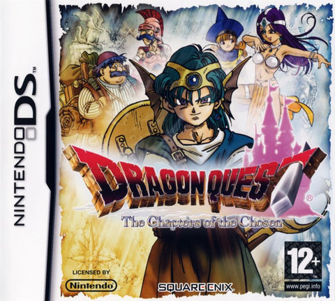 NINTENDO DS - DRAGON QUEST: THE CHAPTERS OF THE CHOSEN
