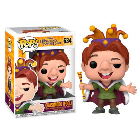 POP! DISNEY HUNCHBACK OF NOTRE DAME - QUASIMODO (FOOL)