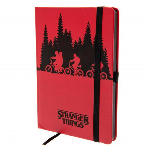 CADERNO - STRANGER THINGS DIÁRIO PREMIUM UPSIDE DOWN