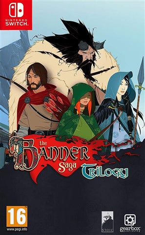 NINTENDO SWITCH -THE BANNER SAGA TRILOGY - SEMINOVO