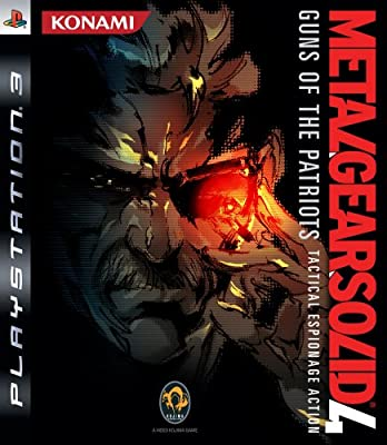 PS3 - METAL GEAR SOLID 4