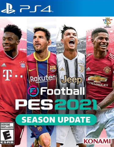 PS4 - EFOOTBALL PES 2021