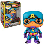 POP! MARVEL -CAPTAIN AMERICA (BLACK LIGHT)