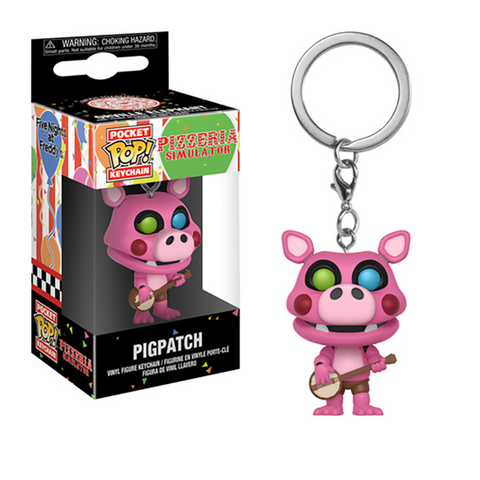 POCKET POP! KEYCHAIN FNAF PIGPATCH