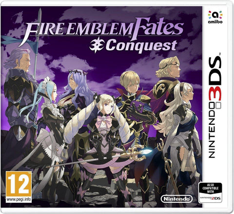NINTENDO 3DS - FIRE EMBLEM FATES CONQUEST
