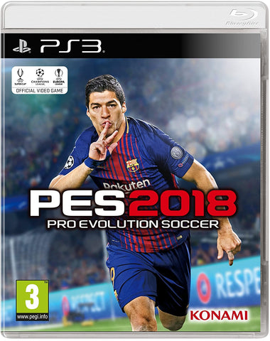 PS3 - PRO EVOLUTION SOCCER 2018