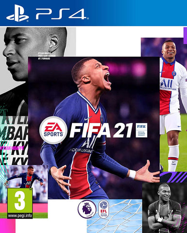 PS4 - FIFA 21 UK  - SEMINOVO