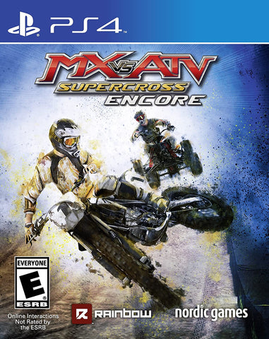 PS4 - MX ATV SUPERCROSS ENCORE